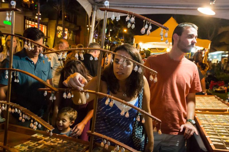Local vendors at Aloha Festival