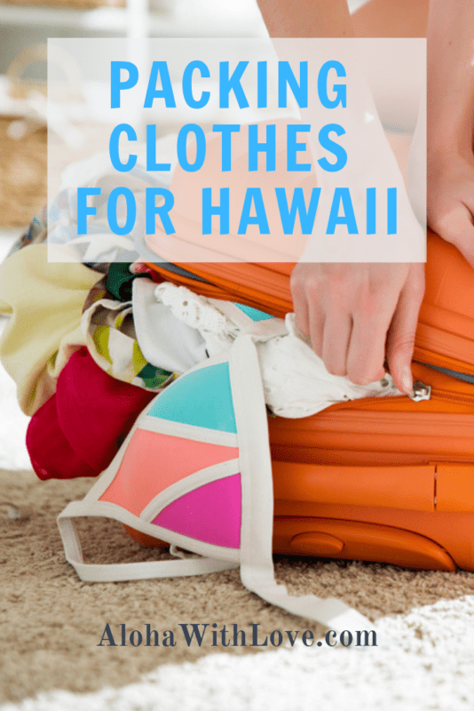 Clothes For Hawaii That Should Already Be In Your Suitcase