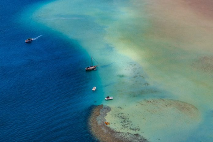 The Kaneohe sandbar (also a great spot for snorkel tours).
