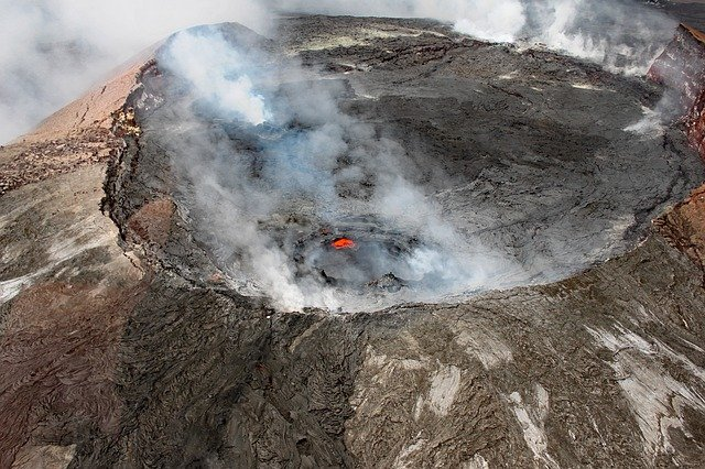Kilauea is the attention grabber in Hawaii Volcanoes National Park.
