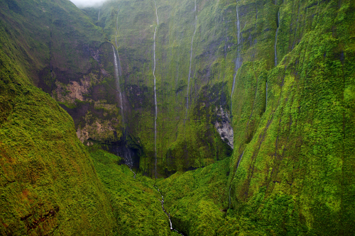 Mount Waialeale is one of the wettest spots on Earth (and incredibly gorgeous, too!).
