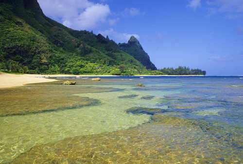 Tunnels Beach (Makua Beach) is probably the best snorkeling spot in Kauai you'll find.
