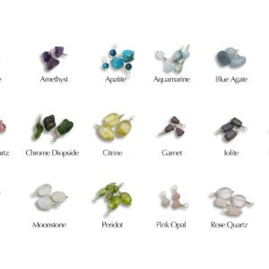 Color is Power Oceanid Glass Dangles