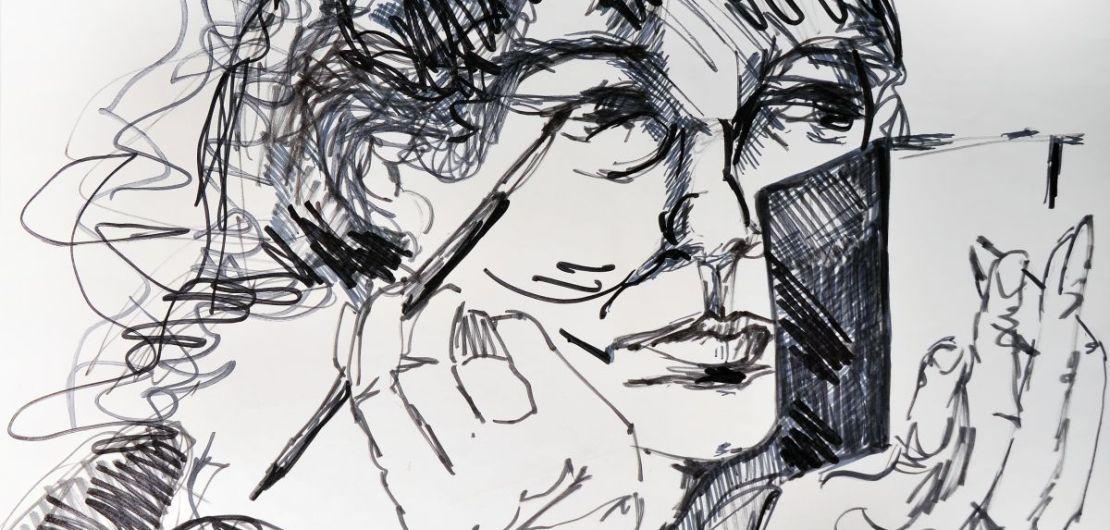 Pam Chadick Aloisa. Pam Chadick Aloisa Drawing Lines