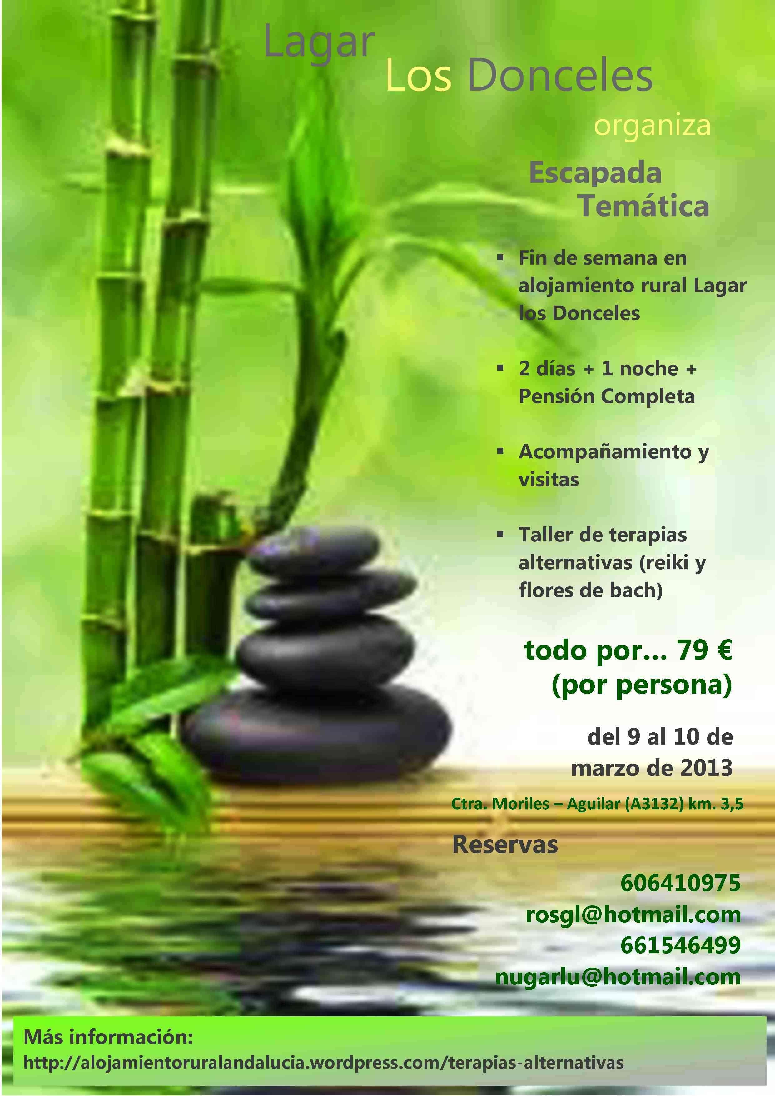 Terapias alternativas  Alojamiento Rural en Andaluca