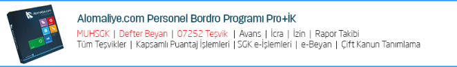 personel programı