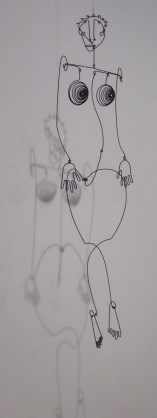 Alexander Calder - an early wire mobile of singer Josephine Baker, 1930