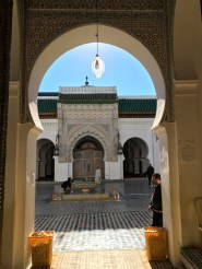 Kairaouine Mosque - the huge mosque of Fes