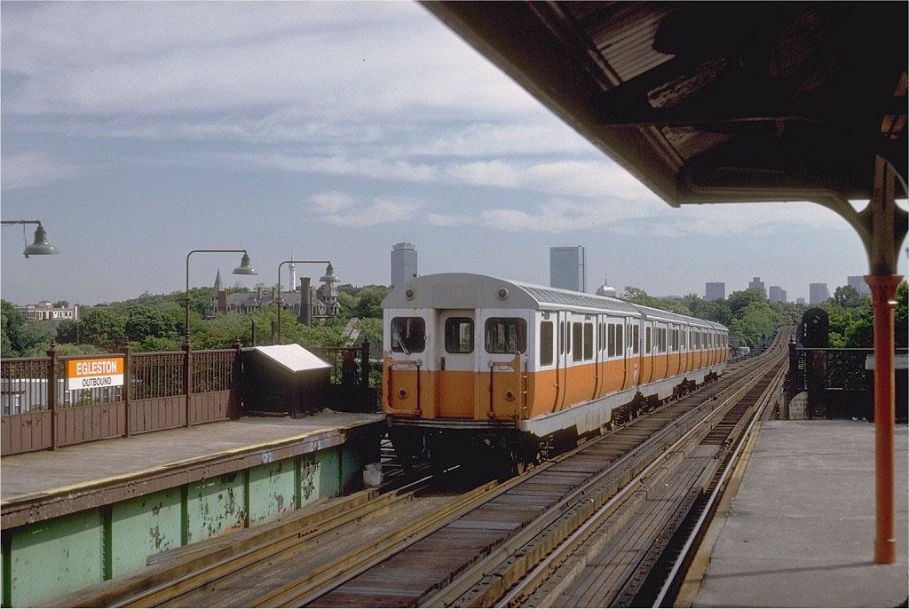 Orange Line - Egleston
