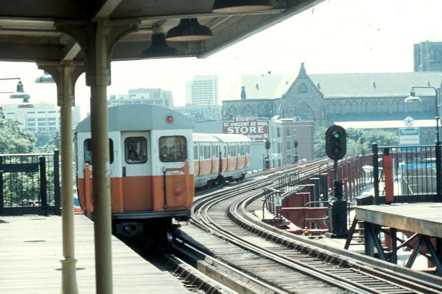 Orange Line - South End