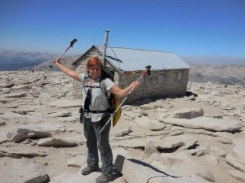 Me on top of Mt. Whitney.