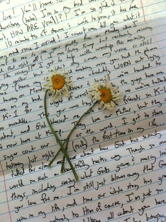 Preppy Couple Love Letter SUmmer