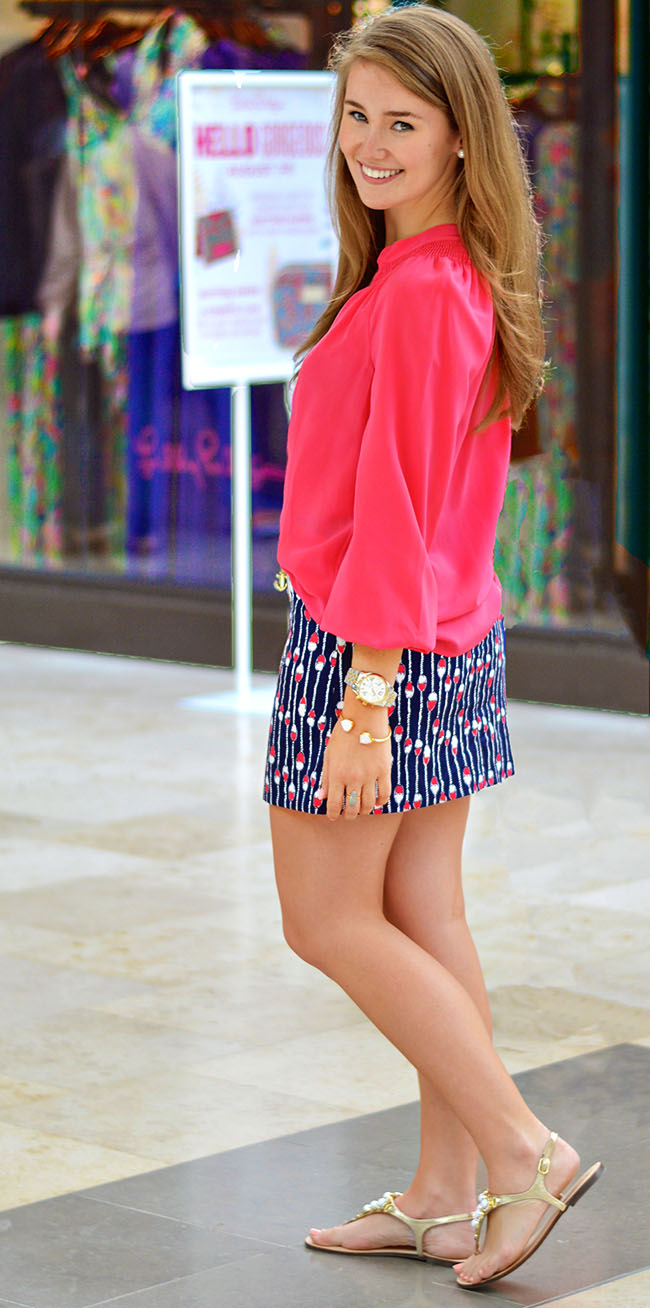 lilly pulitzer, preppy blog, southern blog, southern sorority girl, summer in lilly, lilly pulitzer model, lilly pulitzer intern, game day outfit, southern gameday outfit
