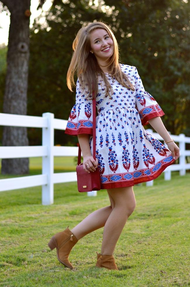 chicwish peasant dress, chicwish dress, chicwish, preppy, southern, style, southern style, sorority girl, preppy southern style, texas style, dallas blogger, texas blogger, college girl blogger, peasant dress