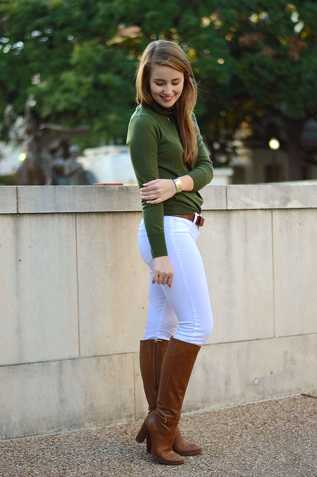 audrey durden, preppy equestrian style, monogrammed necklace, monogrammed cuff, riding boots, preppy style, southern style, sorority girl, university of texas blogger