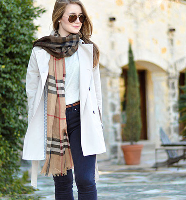 burberry scarf, burberry ombre scarf, trench coat, classic style, preppy girl style, sorority girl style, college girl style, american girl style, classic american style, tortoise ray bans, l k bennett, kate middleton pumps, michael kors watch, dallas style blog, texas style blog