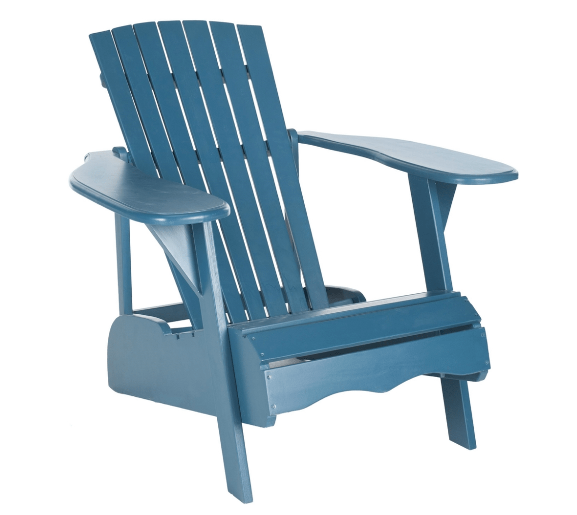 Teal Adirondack Chairs Along For The Joyride