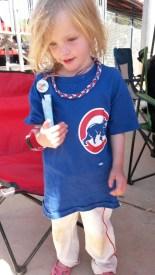 Her first baseball season