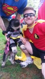 Ethan (and Batman) - Superhero Sprint