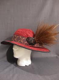 1912 Wide Brimmed Hat