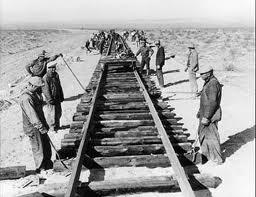 Laying Railroad Track