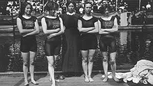 Women's Freestyle Swimming Team 1912 Olympics