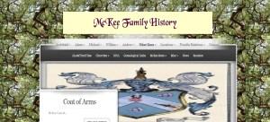 McKee Family Website