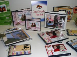 Scrapbooking is a great way to store pictures and make family history interesting