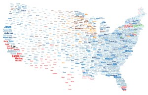 surname map