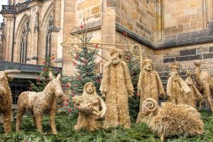 Pagan traditions were incorporated with those of the church to form the Christmas we know today.