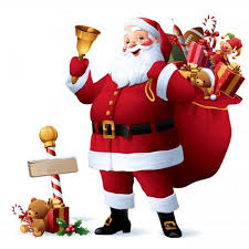 Traditional image of Santa Claus