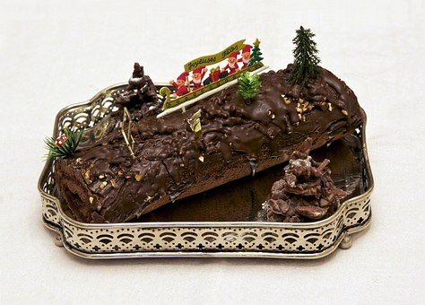History of Christmas Recipes: Yule Log