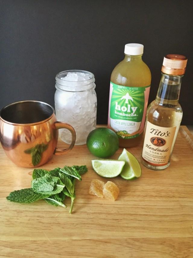 Skinny Moscow Mule cocktail recipe via A Lo Profile (www.aloprofile.com)