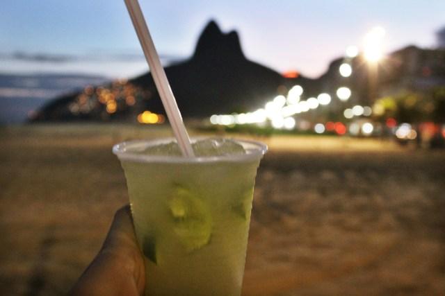 Caipirinha on Ipanema beach, Rio travel guide via A Lo Profile