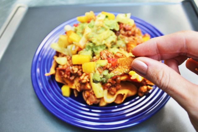 Sweet potato nacho recipe via A Lo Profile (www.aloprofile.com) #whole30 and #Paleo friendly