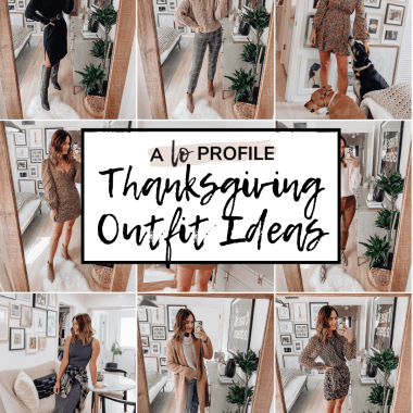 What to wear on Thanksgiving featuring Thanksgiving outfit ideas with evertyhing from leggings to dresses to tops & jackets.