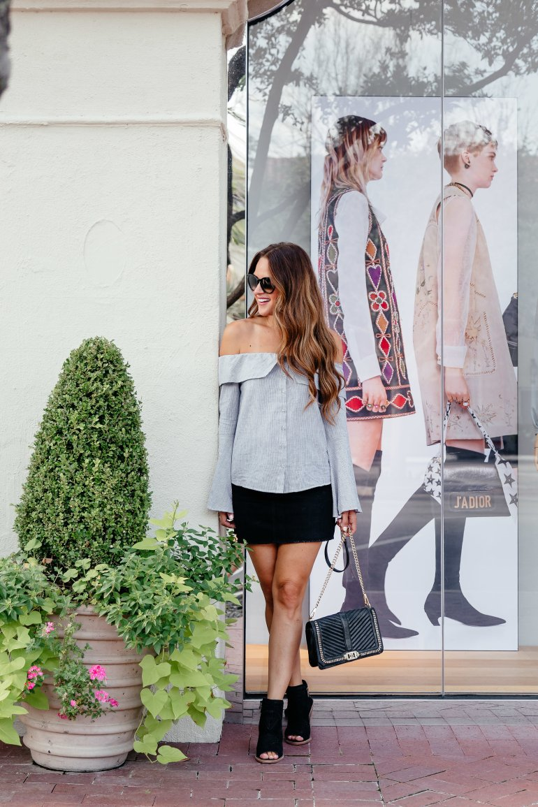 How to transition mini skirts for Fall via A Lo Profile