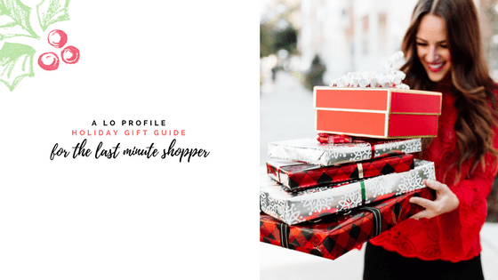 Last Minute Gift Guide via A Lo Profile