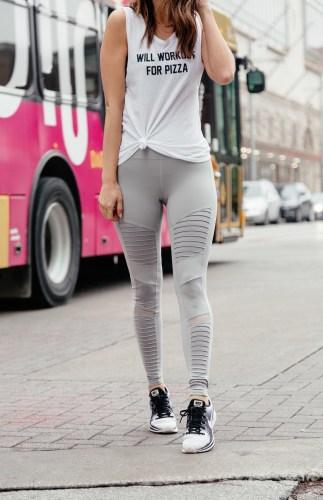 Seeking Balance-- Dallas blogger A Lo Profile shares her tips on living a balanced life. #balance #workout #activewear