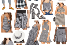 Friday Favorites: Gingham. Dallas blogger sharing a roundup of her favorite clothing, accessories, and shoes that will make sure you have gingham for spring in your closet. #gingham #collage #fridayfavorites #springstyle