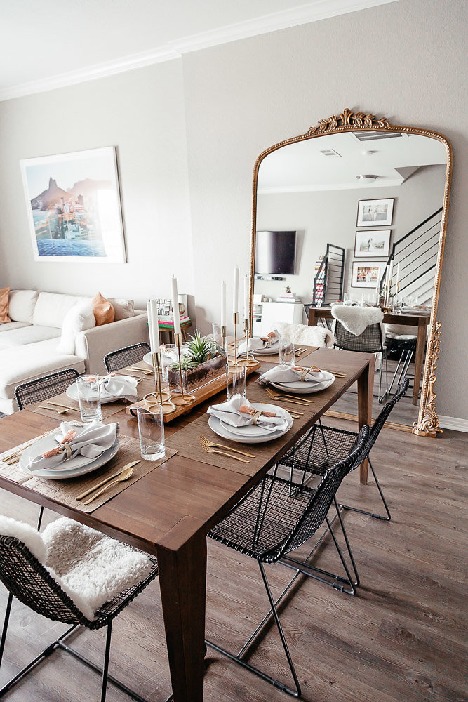Our Dining Room: Dallas blogger sharing more of her home decor with images of her dining room including where all items are from. #homedecor #diningroom #decor #homestyle