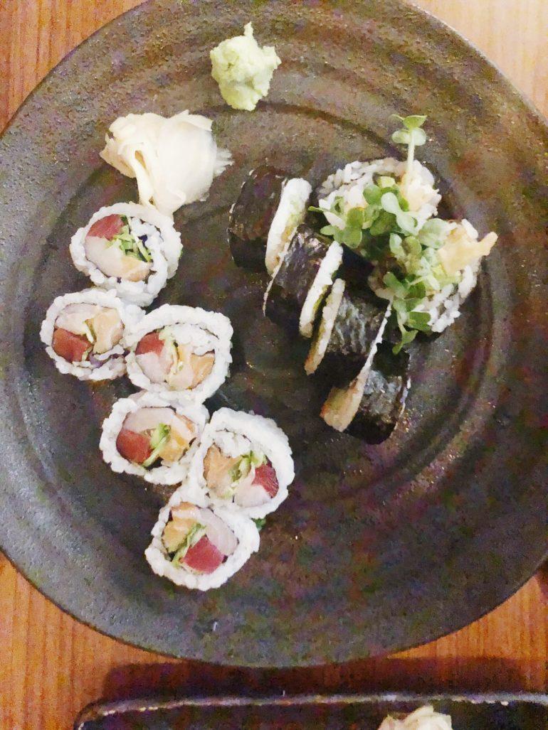 Sushi at Blue Ribbon in Miami