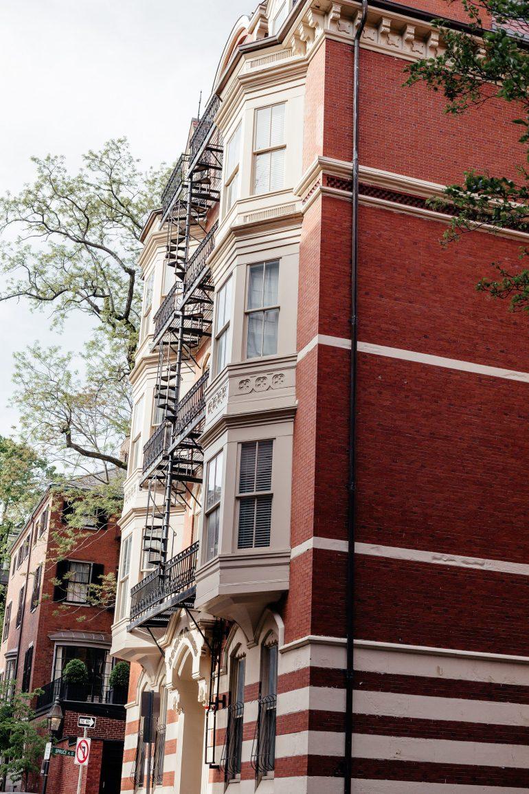 Boston Street view via A Lo Profile's Boston Travel Guide