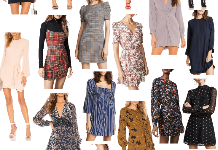 Sharing a roundup of the cutest fall dresses in a ton of style and price options. Plus, styling ideas for fall dresses and 'The Weekly Lo Down.'