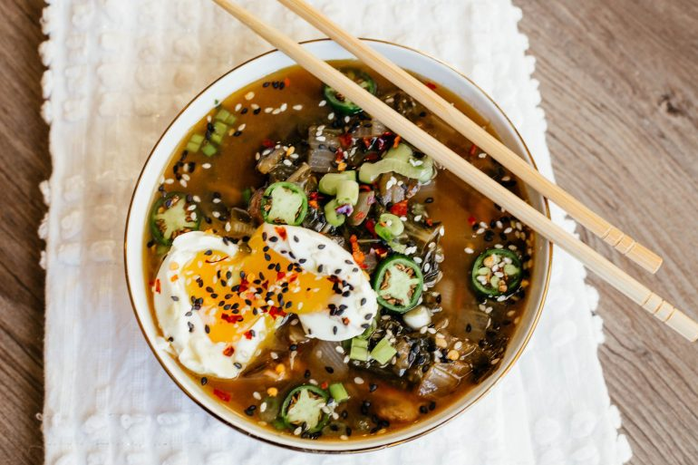 Whole 30 Ramen zoodle soup recipe by A Lo Profile
