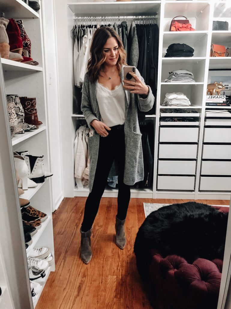 February Instagram roundup featuring everything I wore this past month to give you some February outfit ideas that you can easily shop all in one place!