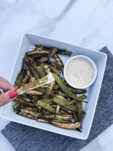WHOLE 30 OKRA FRIES