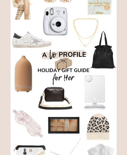 Today I am sharing my top gifts for her in a collage post featuring everything from jewelry to clothing to tech, beauty, home goods, & more.