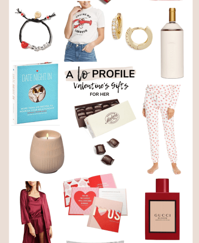 Sharing a roundup of Valentine's Gifts for her in every price range so you can find a gift for any woman in your life for Valentine's Day.