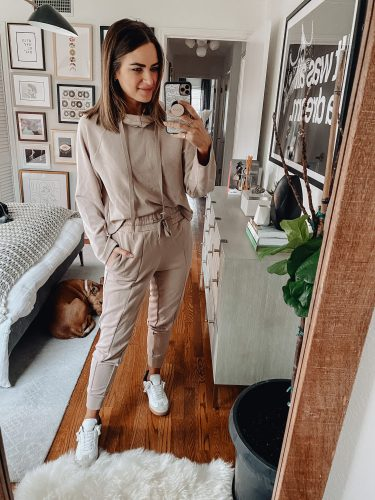 Sharing a roundup of spring loungewear AKA at home workwear while we are all spending more time at home during social distancing.